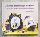 Livre l'atelier cartonnage de Lilie
