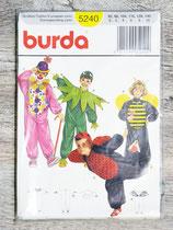 Pochette patron Burda 5240 - Déguisements enfants