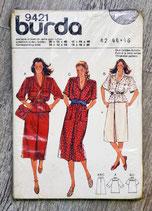 Patron couture Burda n°9421 - Ensemble dame (Vintage)