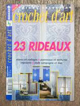 Magazine Crochet d'art HS - 23 rideaux