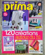 Magazine HS créatif Prima - 120 créations autour du fil