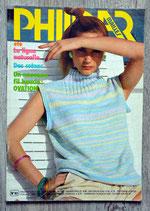 Magazine Phildar mailles n°82 - Eté (Vintage)