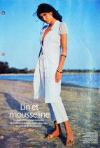 Patron de couture Avantage 165 - Robe boutonnée en lin