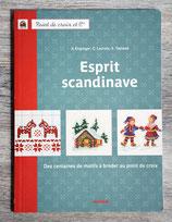 Livre Esprit Scandinave - Motifs à broder au point de croix