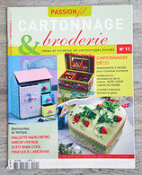 Magazine passion fil - Cartonnage & broderie n°11