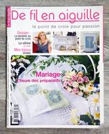 Magazine De fil en aiguille n°67 - Mariage