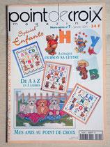 Point de croix magazine HS 7 - Spécial enfants