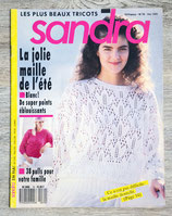 Magazine tricot Sandra n°70 - Mai 1990