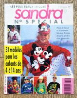 Magazine tricot Sandra Spécial enfants 3/93