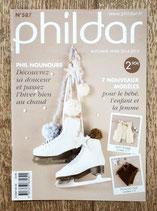 Mini magazine Phildar 587 - 7 modèles pour bébé, enfant et femme