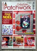 Magazine Création au patchwork - Noël