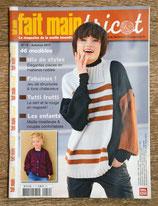 Magazine Fait main Tricot 19 - Automne 2017