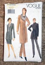 Pochette patron Vogue 9907 - Manteau femme