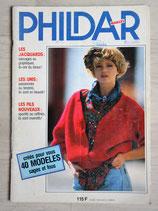 Magazine Phildar mailles - 40 modèles sages et fous