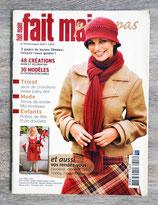 Magazine Fait main pas à pas n°311 de décembre 2007