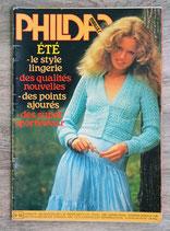 Magazine Phildar mailles n°59 - Eté (Vintage)