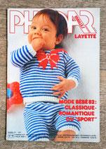 Magazine Phildar mailles layette 91
