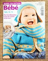 Magazine Diana collection 107 -Tricot bébé