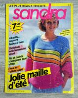 Magazine tricot Sandra n°23
