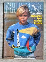 Magazine Phildar mailles n°89 - Enfants (Vintage)