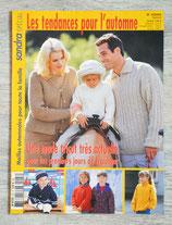 Magazine Tricot Sandra spécial Tendances automne