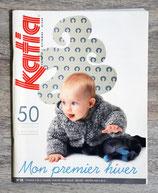 Magazine tricot Katia n°58 - Créations pour bébé - Hiver