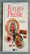 Livre Fleurs sous presse - Edition Fleurus
