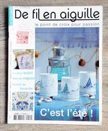 Magazine De fil en aiguille n°44 - C'est l'été !