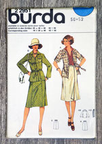 Pochette patron Burda n°22951 - Tailleur jupe (Vintage)