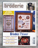 Magazine Ouvrages broderie n°74 - Brodez l'hiver