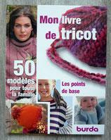 Mon livre de tricot - 50 modèles pour la famille (Burda)