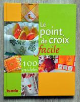 Livre Le point de croix facile - 100 modèles