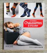 NEUF - Livre Chaussettes à tricoter - 25 modèles