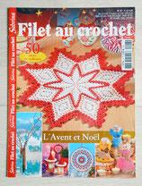 Magazine Sabrina crochet 27 - Filet au crochet