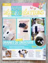 Magazine Atelier Déco & créations n°41 - Février-mai 2018