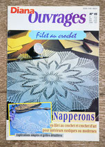 Magazine Diana Ouvrages 15 - Filet au crochet