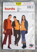Pochette patron Burda n°8783 - Pantalon femme