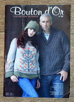 Magazine tricot Bouton d'or 92 - Collection outdoor