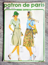 Pochette patron de Paris 5859 - Jupe (Vintage)