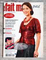 Magazine Fait main pas à pas de décembre 2008 (323)