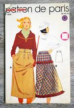 Pochette patron de Paris 8806 - Jupe (Vintage)