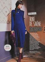 Patron de couture Modes & Travaux - Robe de sirène