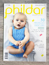 Magazine Phildar n°108 bébé - Printemps-été 2014