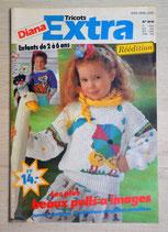 Magazine Diana Tricots extra 41H enfants 2-6 ans
