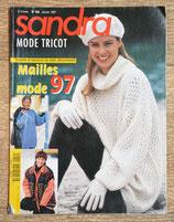 Magazine tricot Sandra 150 - Janvier 1997