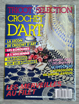 Magazine Tricot sélection - Crochet d'art - n° 134