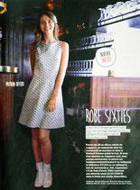 Patron de couture Modes & Travaux - Robe sixties