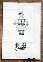 Patron de couture Modes & Travaux - Ensemble jersey poupée Emilie