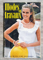 Magazine Modes & Travaux n°956 - Juillet 1980 (Vintage)