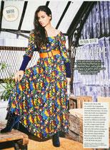 Patron de couture Modes & Travaux - Robe bohème